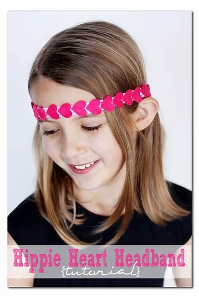 Hippie Headband Heart Crafts Tutorial Headbands Easy