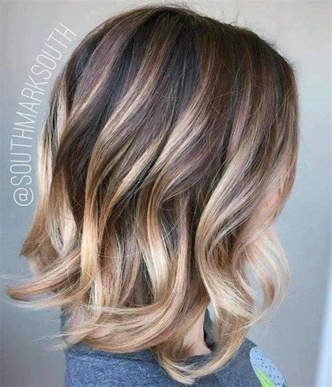 mechas californianas en cabello corto cortes