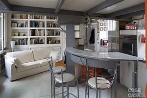 Casa piccola: 43 mq + soppalco per studio e cabina armadio Cose di Casa