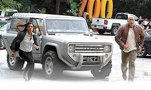2004 Bronco concept hits street -- sort of