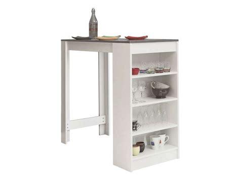 table de bar coloris blanc b 233 ton conforama malinshopper