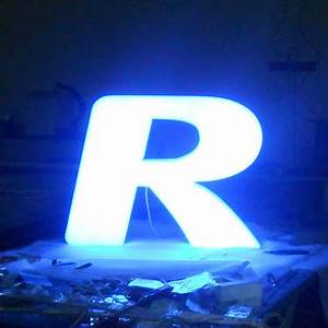 full lit acrylic led channel letter for billboard sign With plastic billboard letters
