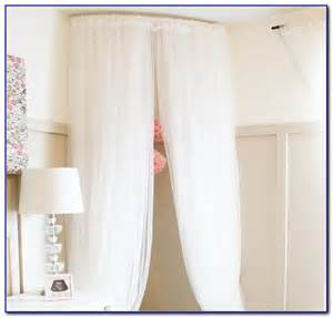 curved curtain rod ikea rooms
