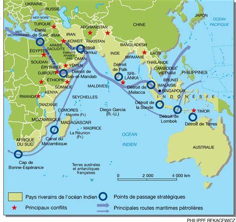 Indien Carte Du Monde by Verrouillage Strat 233 Gique De L Oc 233 An Indien Par Philippe