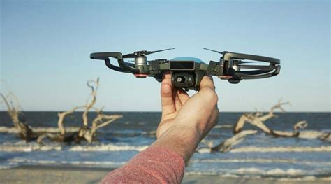djis spark drone   launched   palm  costs   technology newsthe