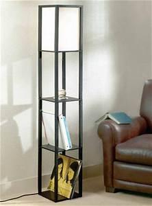 floor lamp with wood shelves walmart canada With shelf floor lamp canada