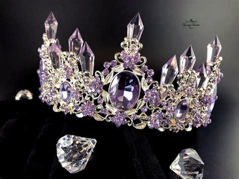 Purple Crystal Crown Zodiac | Luxury Tiaras
