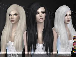 Sims 4 Hairs Stealthic Misery Hairstyle