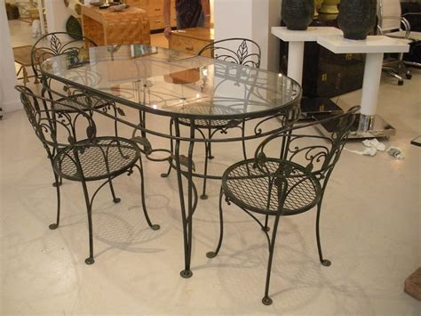 wrought iron and glass dining table wrought iron glass top dining table decor ideasdecor ideas