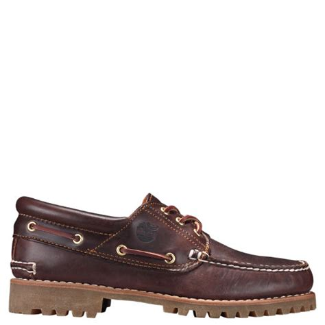 Timberland Handsewn Boat Shoes by S Timberland 174 Icon 3 Eye Classic Handsewn Lug Shoes