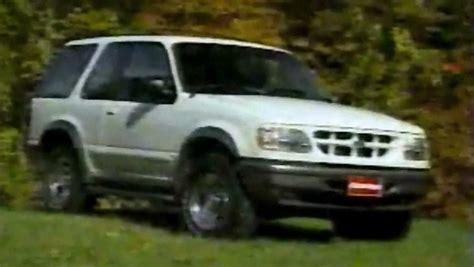 ford explorer  door sport test drive