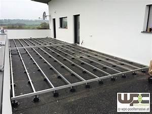 Balkon Steinplatten Schwimmend Verlegen : bilder wpc aluminium alu unterkonstruktion f r ~ A.2002-acura-tl-radio.info Haus und Dekorationen