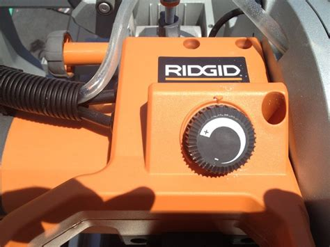 ridgid tile saw manual ridgid 10 quot variable speed commercial tile saw review the
