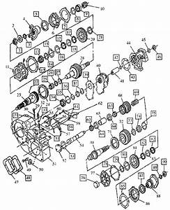 Np205 New Process Transfer Case Diagram