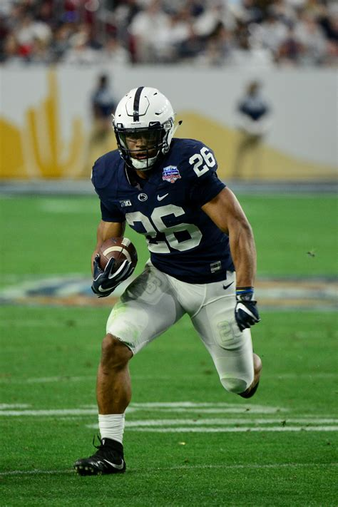 saquon barkley declares  draft