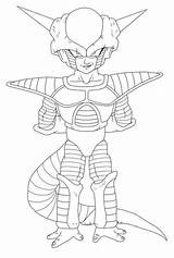 Frieza Drawing Ball Form 1st Getdrawings sketch template