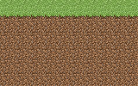 When i was building my greenhouse plot, it literally took forever for grass to grow. dirt block minecraft perler | Minecraft wallpaper by ...