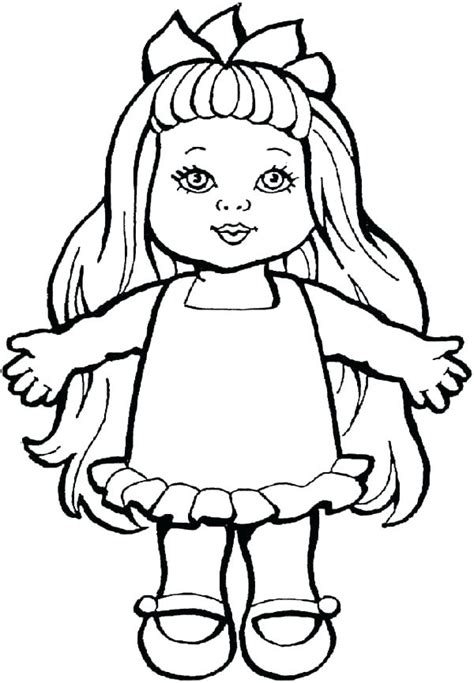 doll coloring pages  getcoloringscom  printable colorings pages  print  color