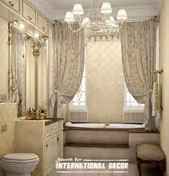 shower curtain ideas for small bathrooms how to design luxury bathroom in classic style