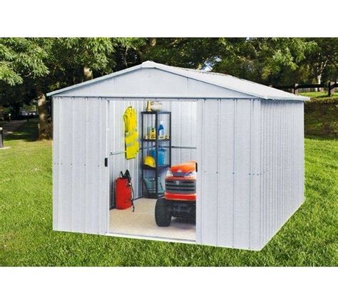 Garden Sheds Leicester - yardmaster metal garden shed 10 x 10ft in leicester