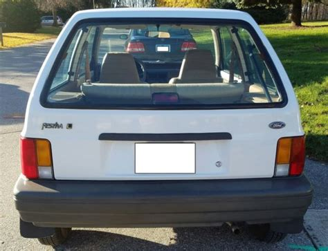 1989 ford festiva survivor not chevette omni or horizon 1989 ford festiva survivor not chevette omni or horizon for sale photos technical