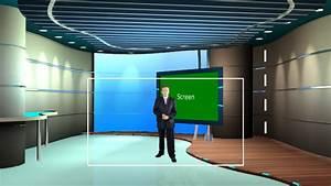 Ecology Talk Show Virtual Set | Datavideo Virtualset