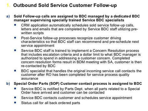 Follow Up Resume Call Script by Crm Process Implementation For Car Dealers