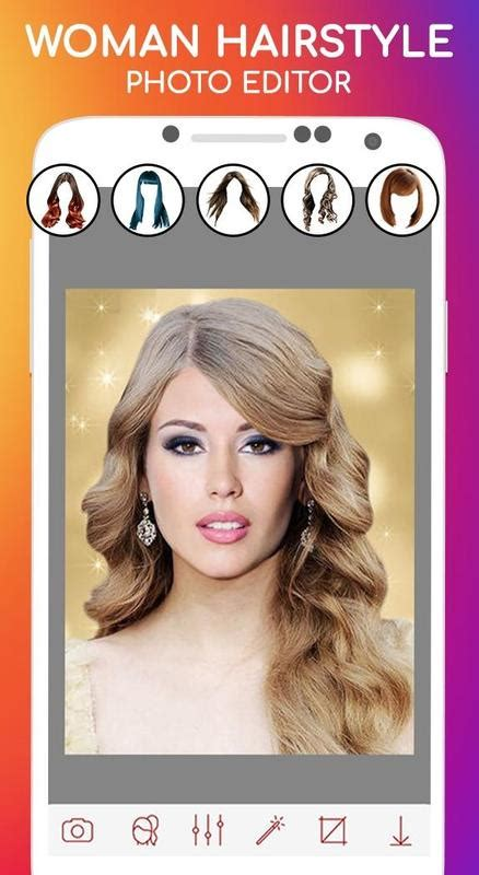 woman hairstyle photo editor  android apk