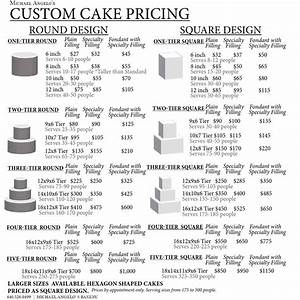 issuu celebration cakes religious baby shower and bridal With cake price list template