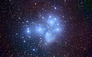 Pleiades Star Cluster Wallpaper