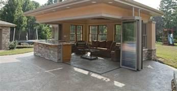 pool guest house plans cabana pool house nanawall
