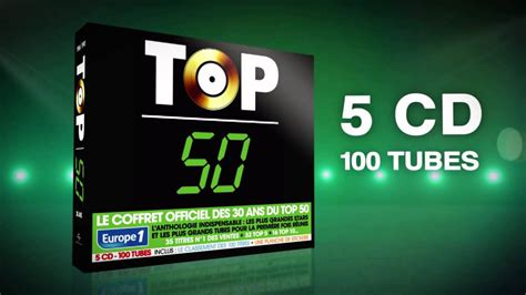 Top 50  30ans  5cd  100 Tubes Youtube