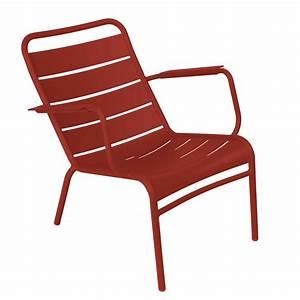 Fauteuil Bas De Jardin : fauteuil de jardin bas empilable aluminium luxembourg ~ Teatrodelosmanantiales.com Idées de Décoration