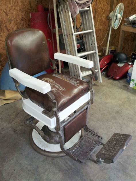 Koken Barber Chair Identification by Koken Barber Chair For Sale