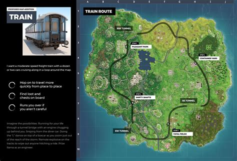train route concept  fortnite battle royale fortnite