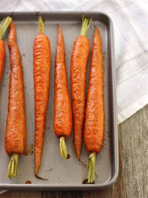 how to cook carrots on the stove sweet tangy balsamic toaster oven roasted carrots