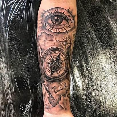 Compass Tattoo Designs Cool Meaning Tattoos Rawiya