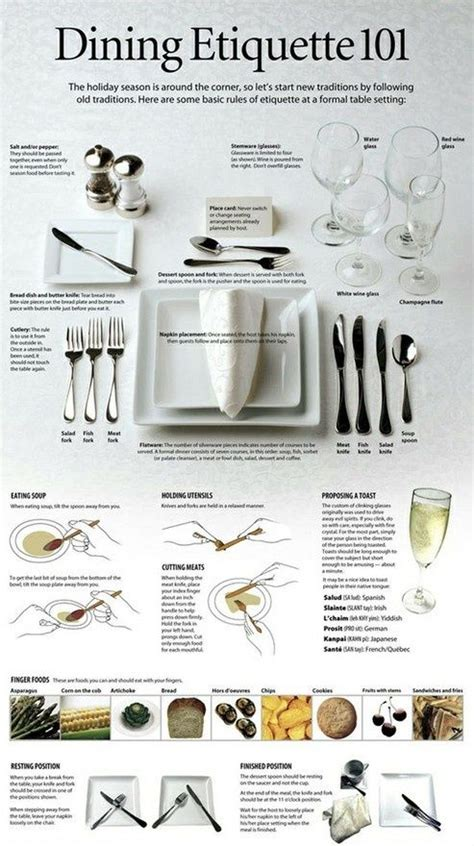 correct way to set a table proper way to set a table beceaus i can pinterest