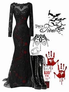 U0026quot;Vampire Costumeu0026quot; by potterhead42 liked on Polyvore | Polyvore | Pinterest | Vampire costumes ...