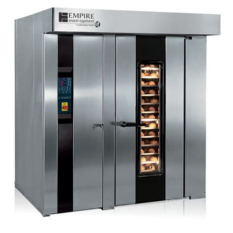 rack of in oven lfr 2 rotating rack oven empire bakery equipment