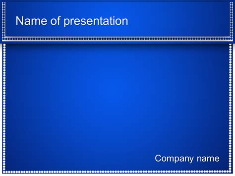 white dots powerpoint template