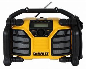 Dab Radio Baustelle : dewalt dcr017 baustellenradio mit li ion akku und netzteil ~ Jslefanu.com Haus und Dekorationen