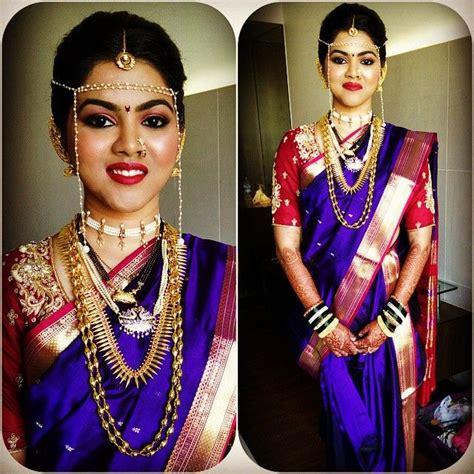 jewelry pieces marathi bride saree wedding marathi wedding