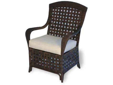 lloyd flanders dining chair seat replacement
