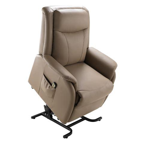 fauteuil releveur 233 lectrique cuir toga univers des assises tousmesmeubles