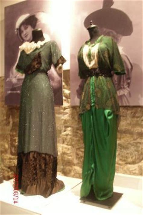 Art Nouveau clothing (temporary exhibit) - Picture of Museum of Decorative Art and Design Riga ...