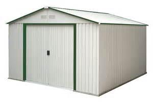 10X12 Metal Storage Shed