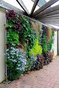 vertical garden turf pinterest garten vertikal und With katzennetz balkon mit indoor vertical garden