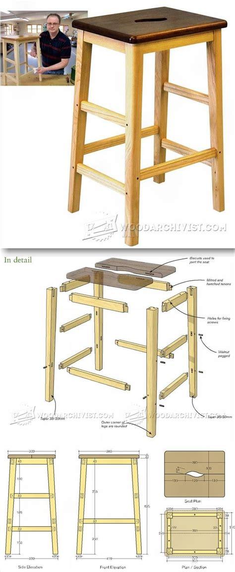 ideas  wood stool  pinterest ikea stool diy stool  ikea hacks