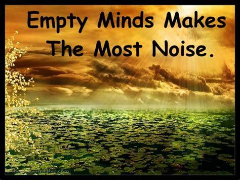 empty mind    noise